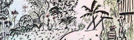 Dans les Abers, 2007 - dessin JTF