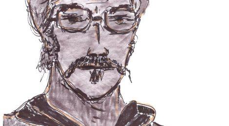 Die, Olivier l'accordéoniste - dessin JTF