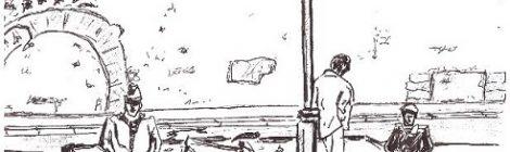 Paris, les cloches des Patriarches - dessin JTF