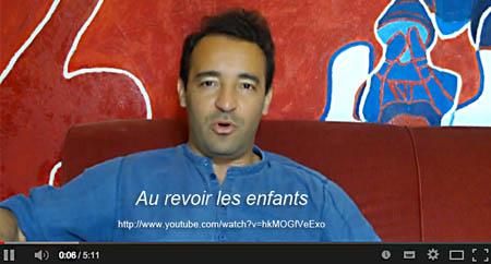 """Entretien vidéo """"Au revoir les enfants"""""""