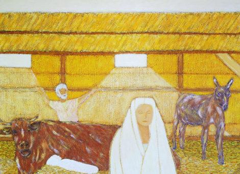 La Nativité jaune