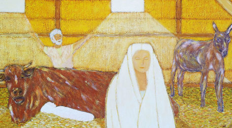 La Nativité jaune - Évolution
