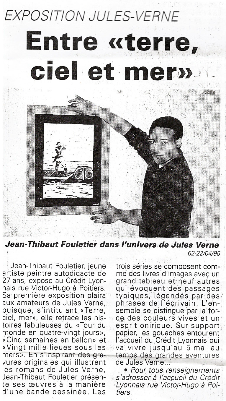 1995 - Jules Vernes - Poitiers