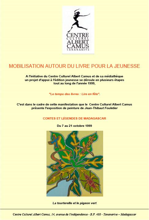 1999 - Centre culturel Albert Camus - Madagascar