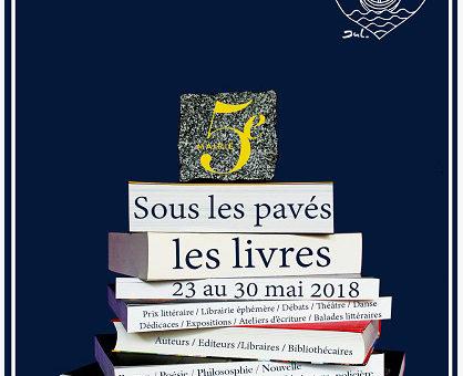 Festival Quartier du Livre - Paris mai 2018