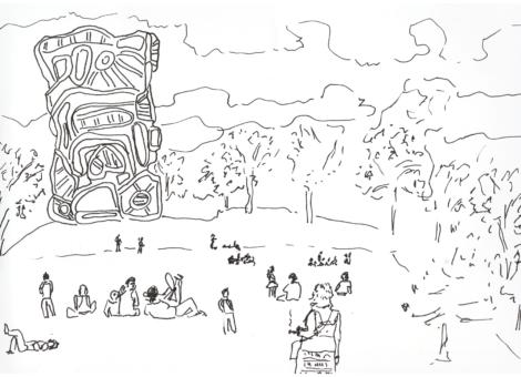 Un après-midi au parc