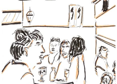 Au bar l'Arbalète (quand il avait un cœur)