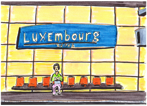 RER Luxembourg, Paris