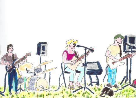 Concert de blues au Mérilou