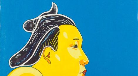 Portrait Takanohana Japon,