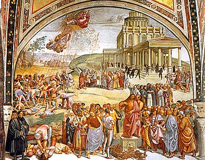 Signorelli - prédication